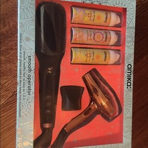 Amika Hair Care Gift Set-New in box.